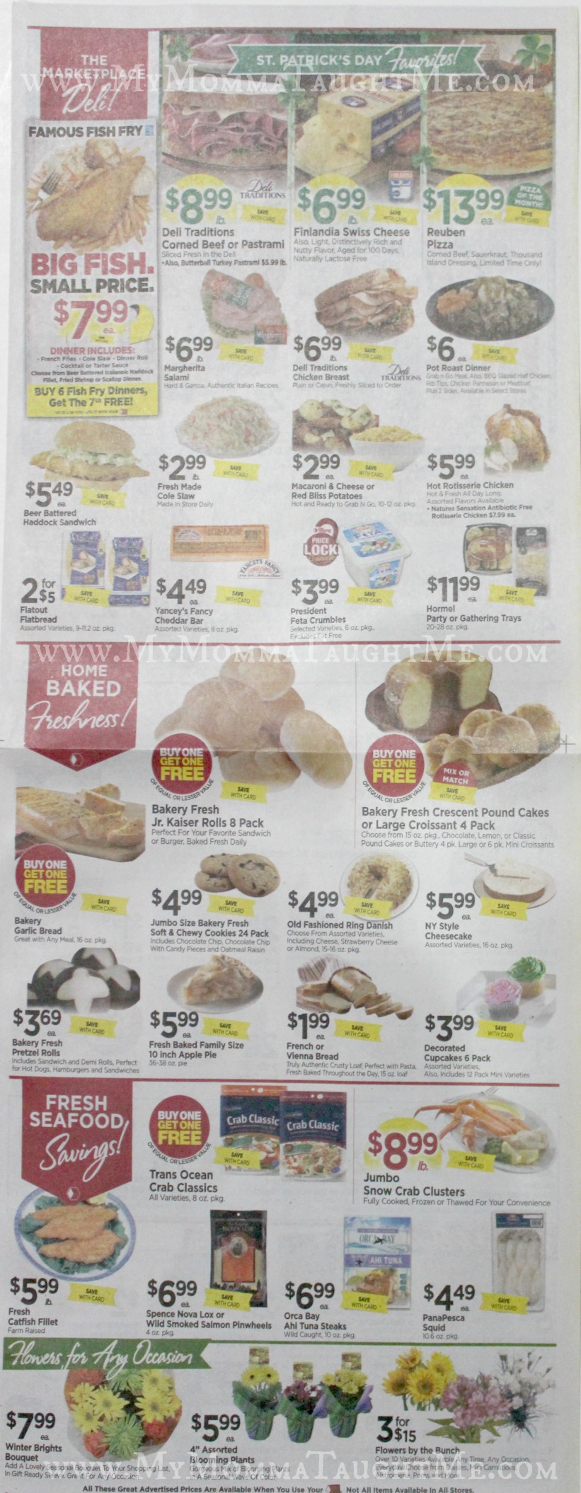 Tops Markets Ad Scan Week Of 3 5 17 To 3 11 17 Page 3
