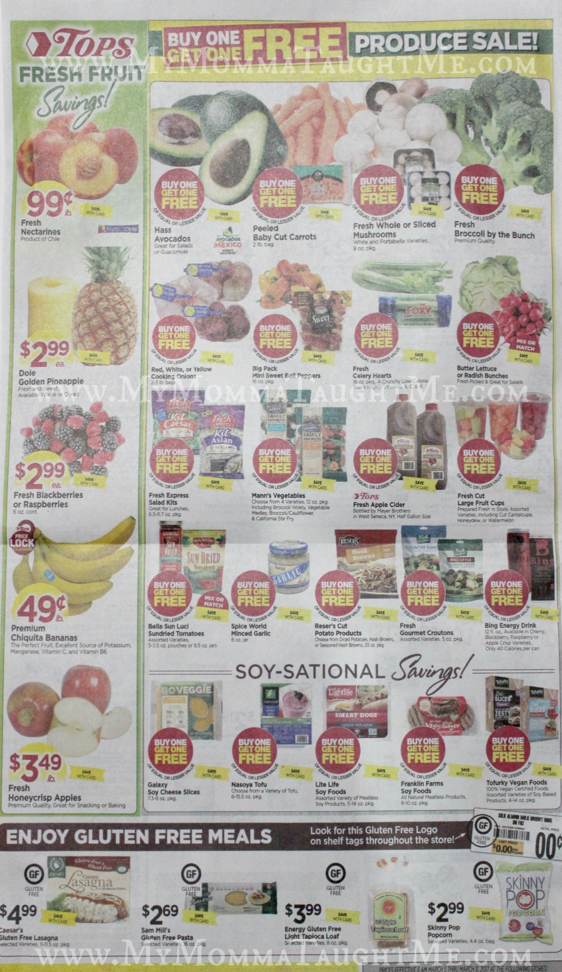 Tops Markets Ad Scan Week Of 3 5 17 To 3 11 17 Page 8