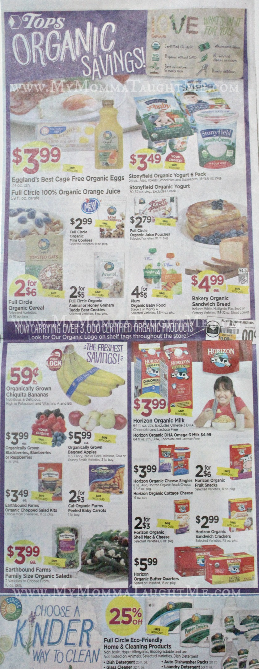 Tops Markets Ad Scan Week Of 3 5 17 To 3 11 17 WB