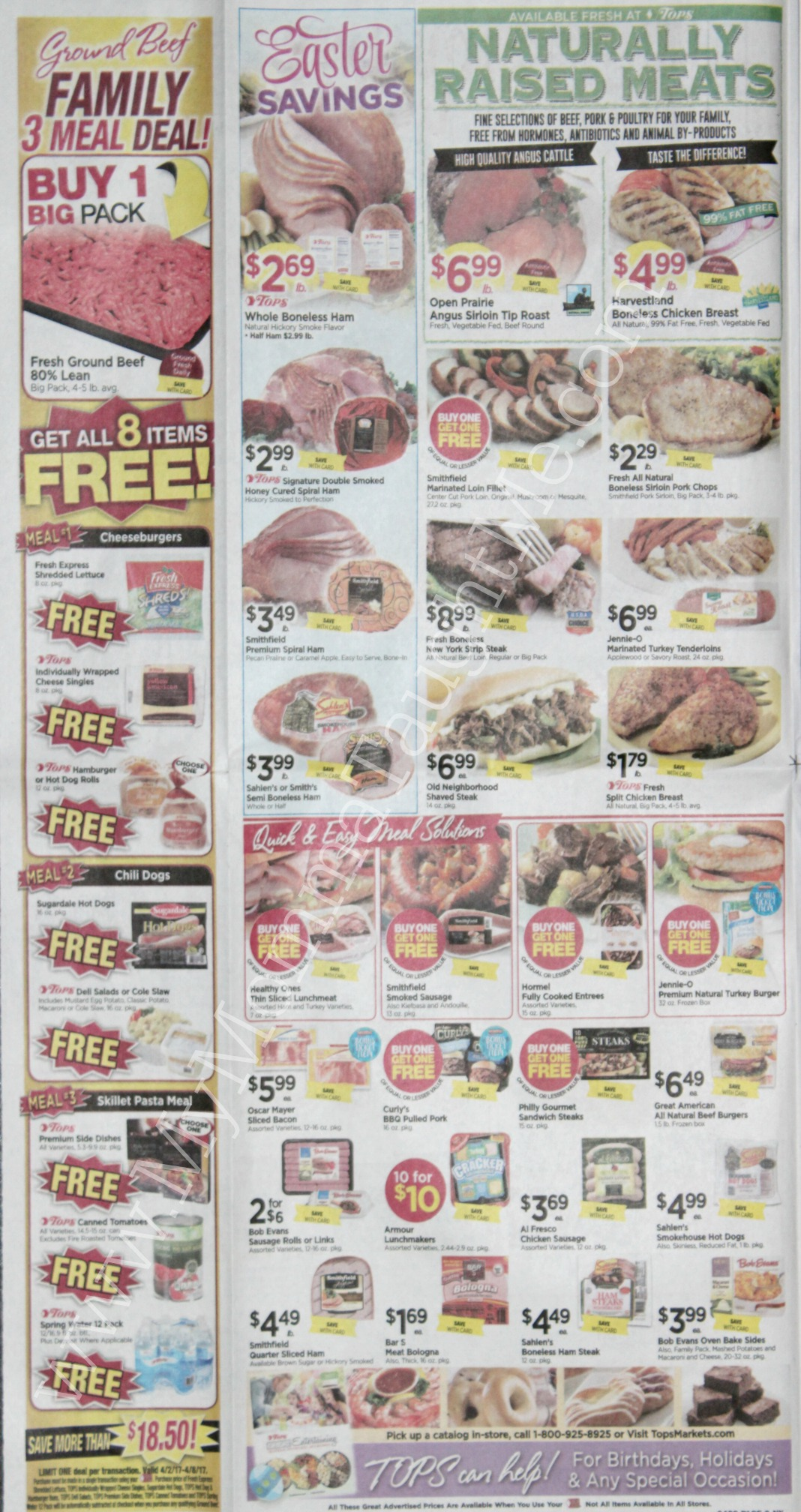 Tops Markets Ad Scan Week Of 4 2 17 To 4 8 17 Page 2