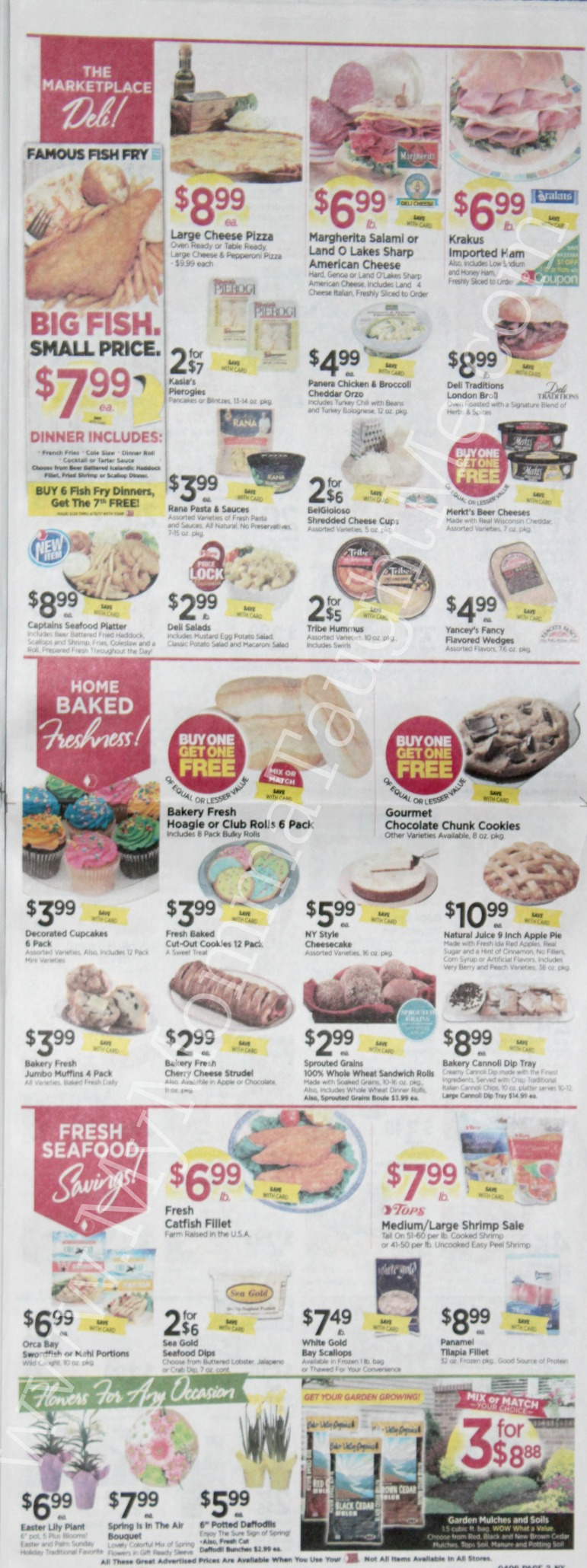 Tops Markets Ad Scan Week Of 4 2 17 To 4 8 17 Page 3