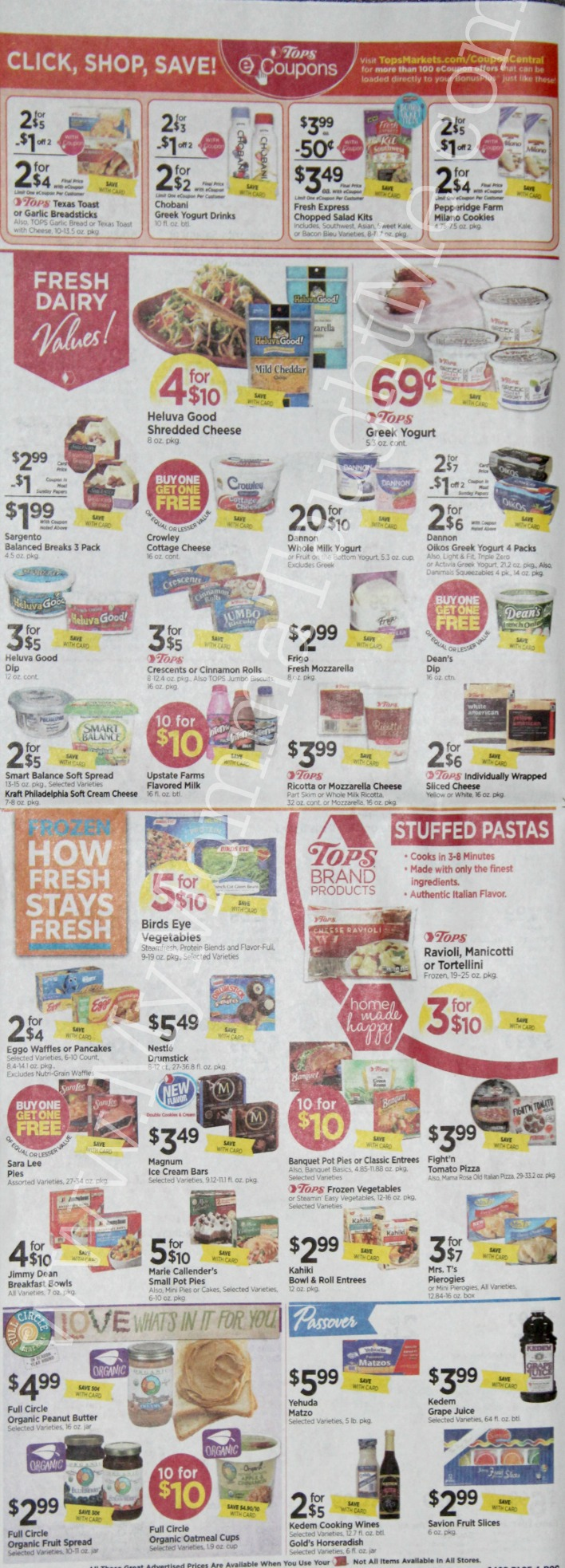 Tops Markets Ad Scan Week Of 4 2 17 To 4 8 17 Page 4