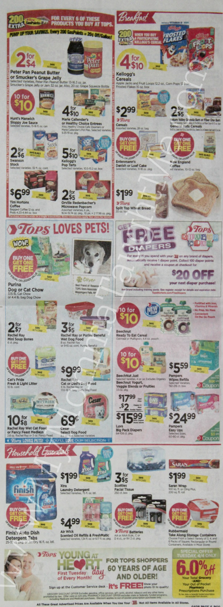 Tops Markets Ad Scan Week Of 4 2 17 To 4 8 17 Page 6