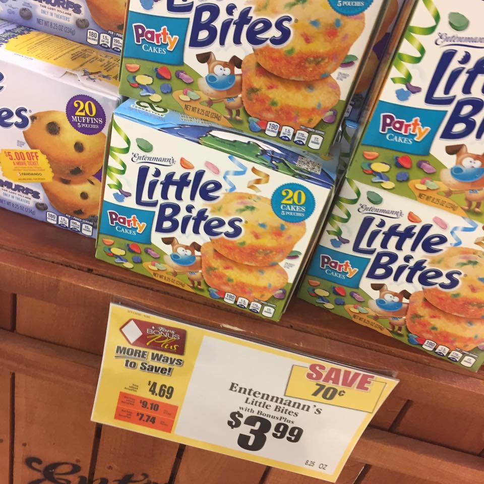 Entenmann's Little Bites Muffins $3 99 Sale At Tops