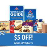 Free Atkins Samples And Coupons