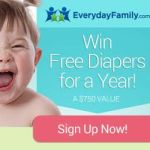 Free Diapers For A Year Giveaway
