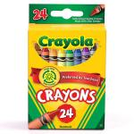 Free Pack 24 Count Crayons