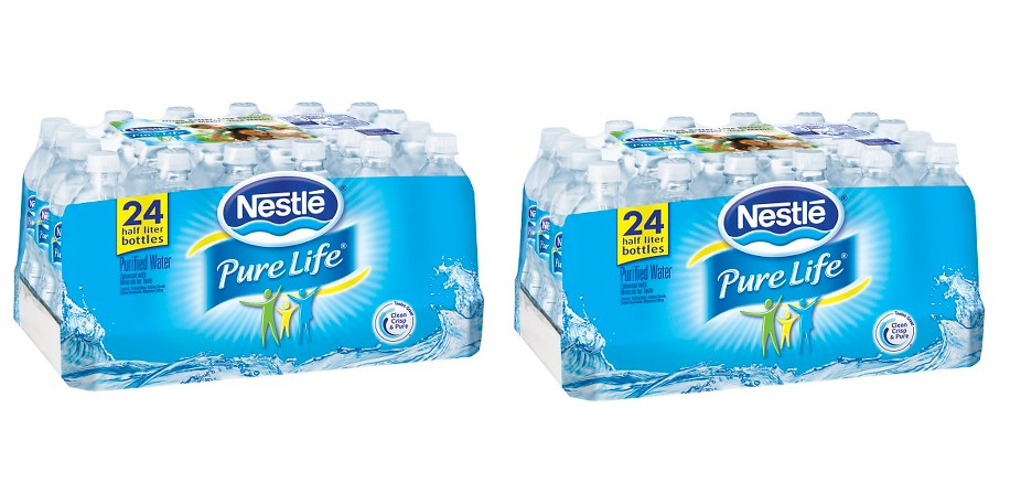 Rare $1.00/2 Nestle Pure Life Water Coupons + Deals at Walmart & Target
