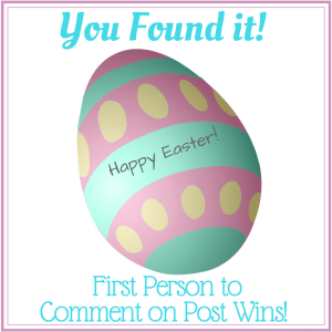 Easter Egg Winner