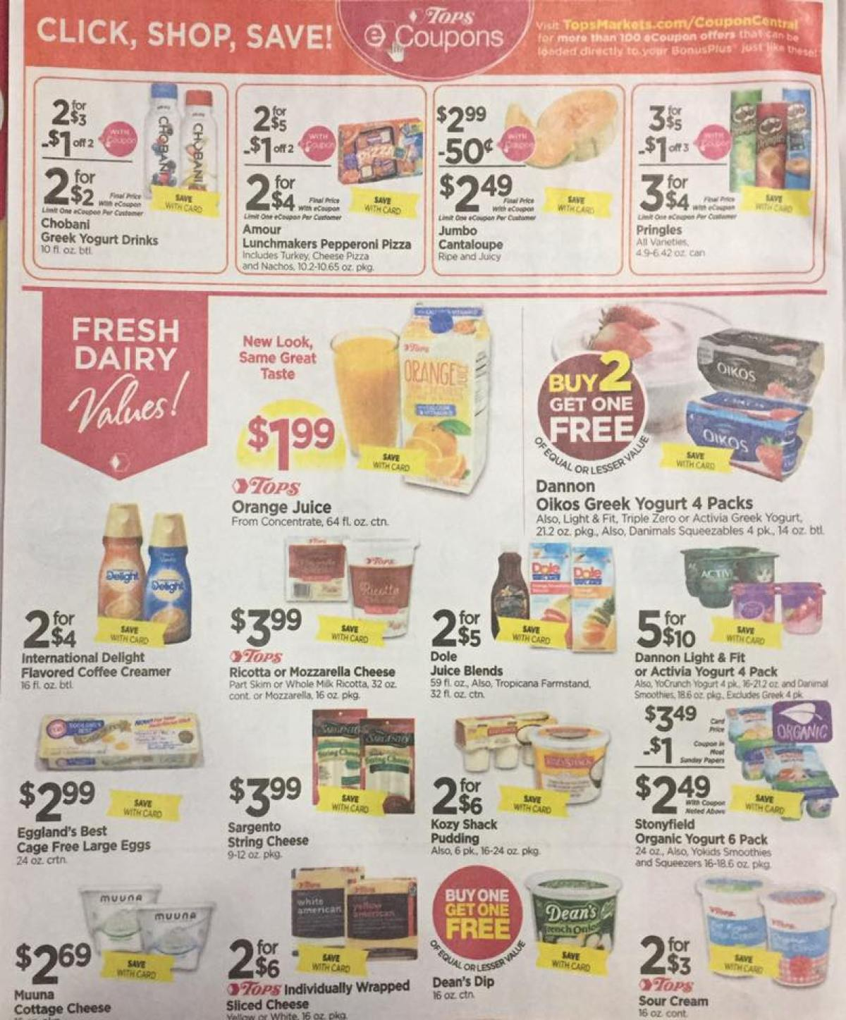 Tops Markets Ad Scan Week Of 4 23 17 To 4 29 17 Page 4a