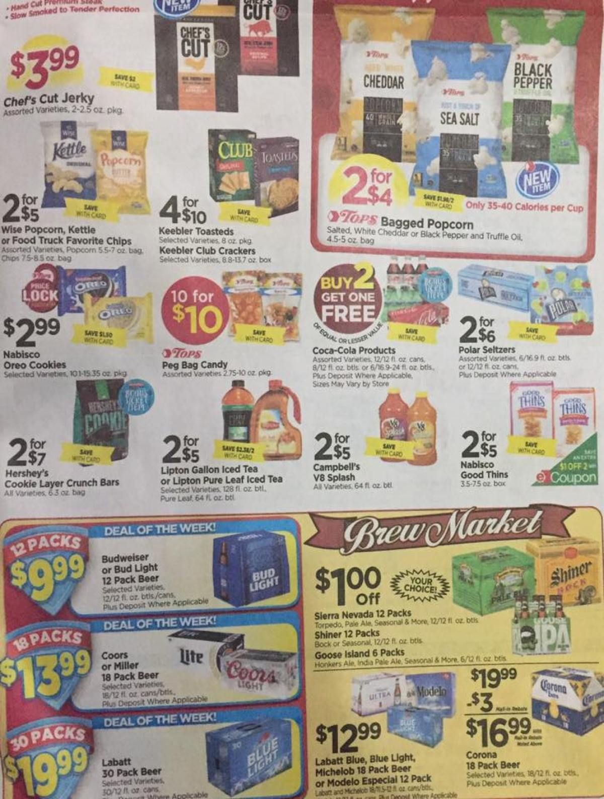 Tops Markets Ad Scan Week Of 4 23 17 To 4 29 17 Page 5b