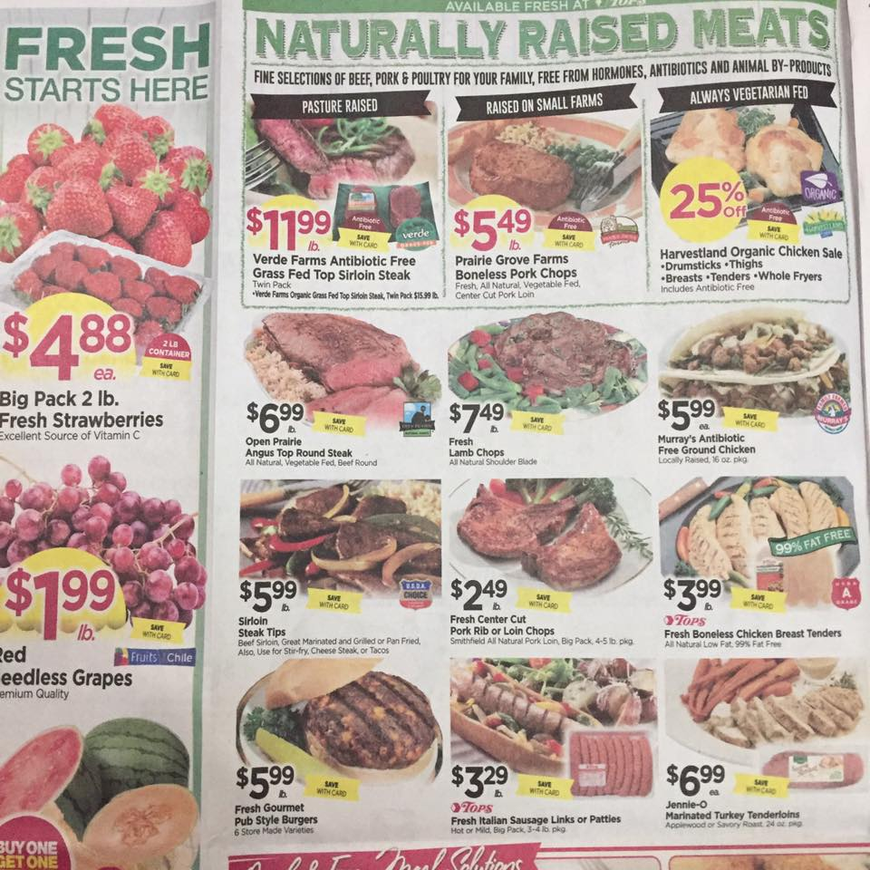 Tops Markets Ad Scan Week Of 4 30 17 To 5 6 17 Page 2a