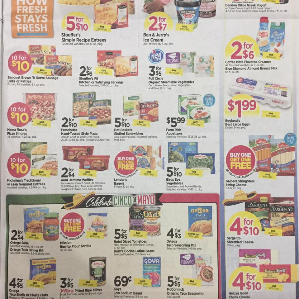 Tops Markets Ad Scan Week Of 4 30 17 To 5 6 17 Page 7b