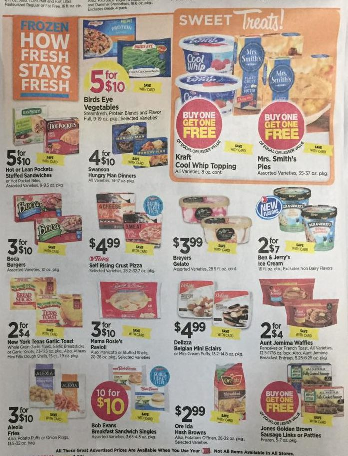 Tops Markets Ad Scan Week Of 4 9 17 To 4 15 17 Page 4b