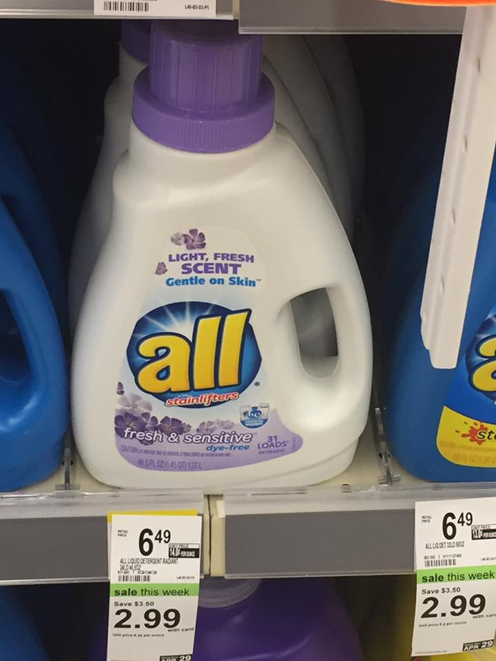All Detergent Sale At Walgreens