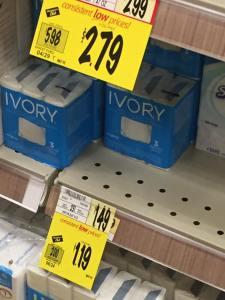 Ivory Soap At Wegmans