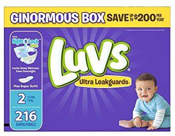 Luvs Diaper Deal
