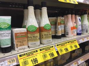 Wegmans Organic Hand, Body, Soap Deal