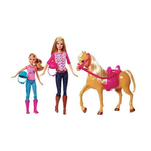 Barbie Pink Tastic Horse & Dolls