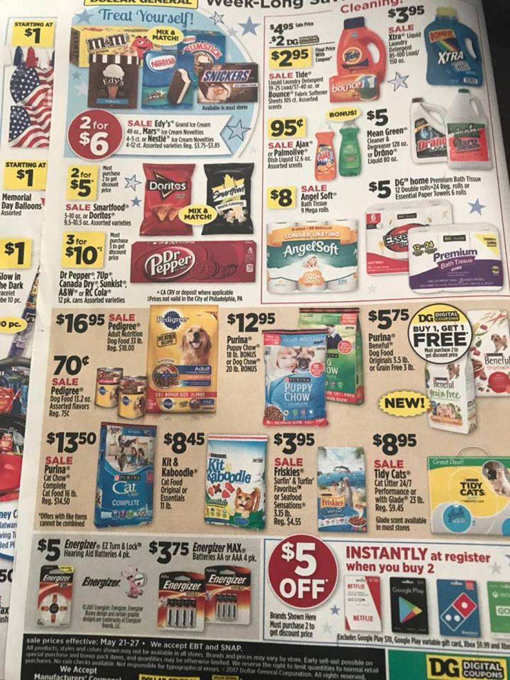 Dollar General Ad Week Of 5 21 Page 2
