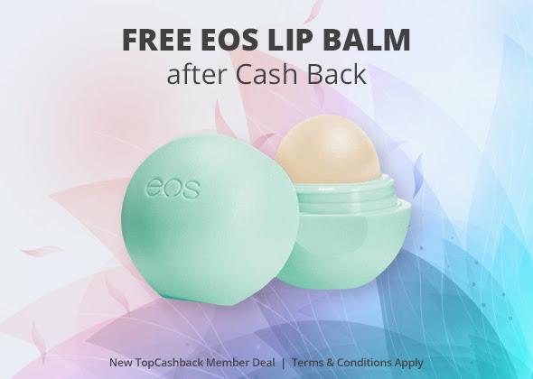 FREE EOS Lip Balm!