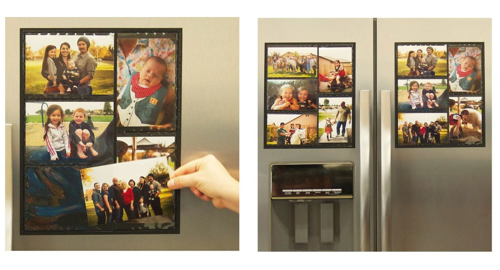 Magnetic Picture Collage Frame for Refrigerator (2 Pack) Only $11.60 ...