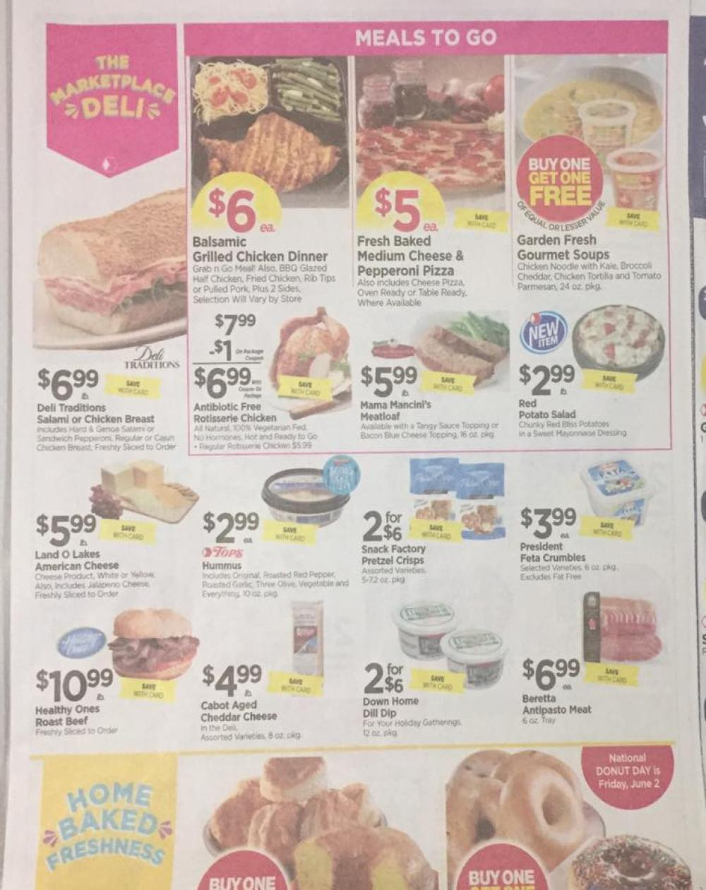 Tops Markets Ad Scan Week Of 5 28 17 To 6 3 17 Page 3a