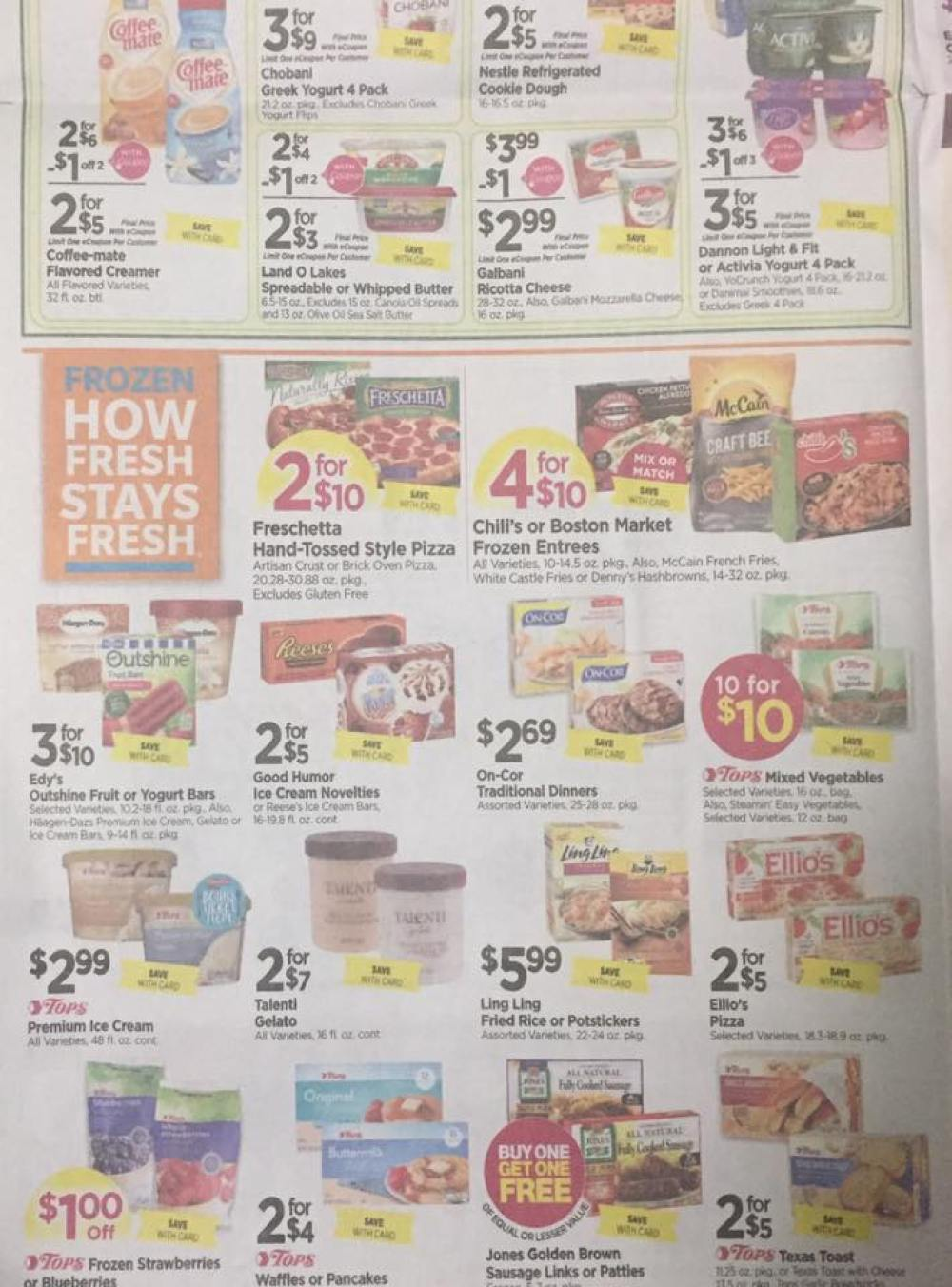 Tops Markets Ad Scan Week Of 5 28 17 To 6 3 17 Page 4b