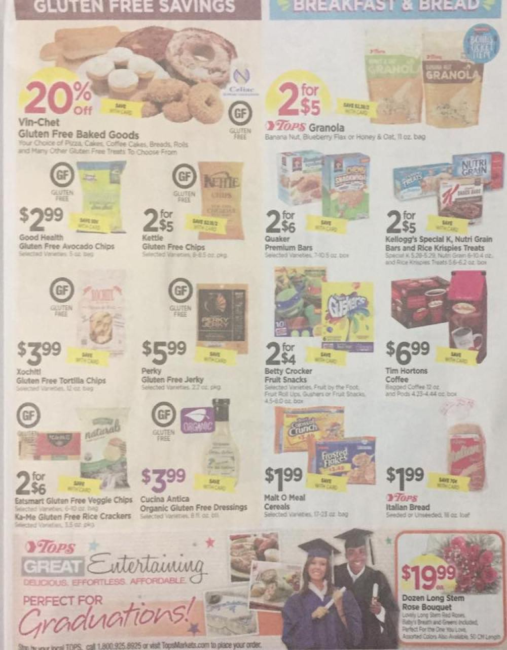 Tops Markets Ad Scan Week Of 5 28 17 To 6 3 17 Page 5b