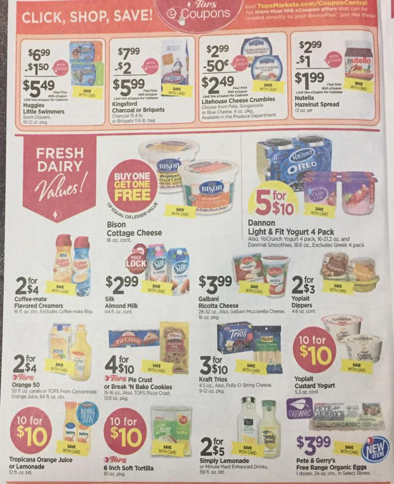 Tops Markets Ad Scan Week Of 5 7 17 To 5 13 17 Page 4a