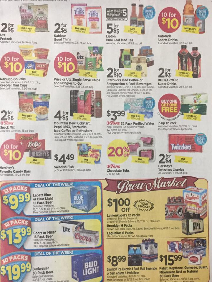 Tops Markets Ad Scan Week Of 5 7 17 To 5 13 17 Page 5b