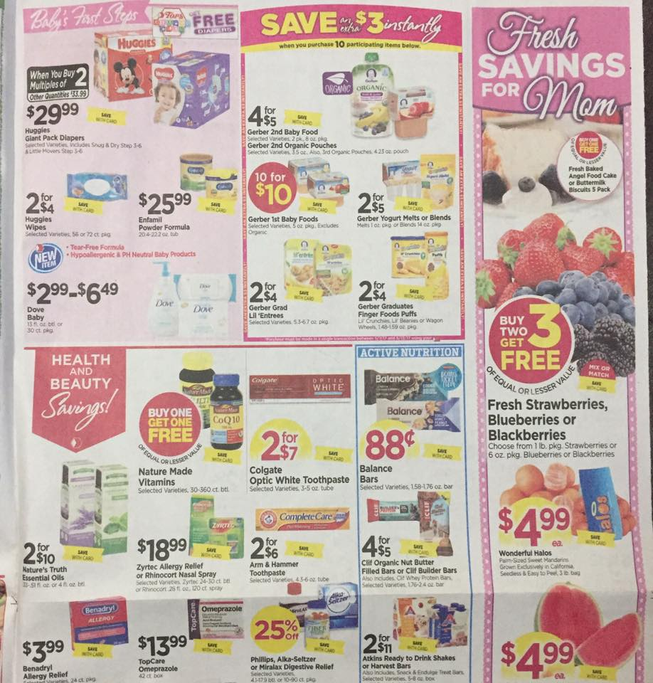 Tops Markets Ad Scan Week Of 5 7 17 To 5 13 17 Page 7a