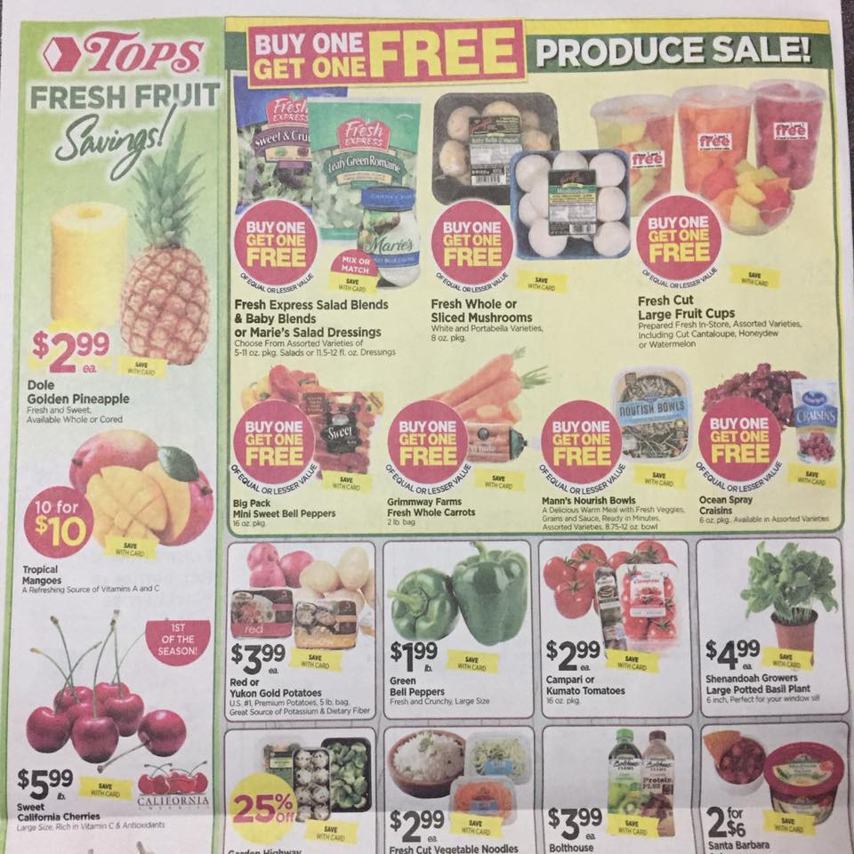 Tops Markets Ad Scan Week Of 5 7 17 To 5 13 17 Page 8a