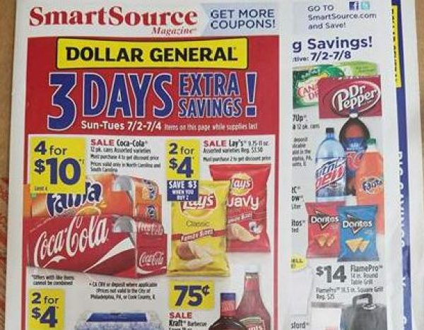 Dollar General Ad Scan Week Of 7 2