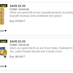 Dollar General Unilever Coupons