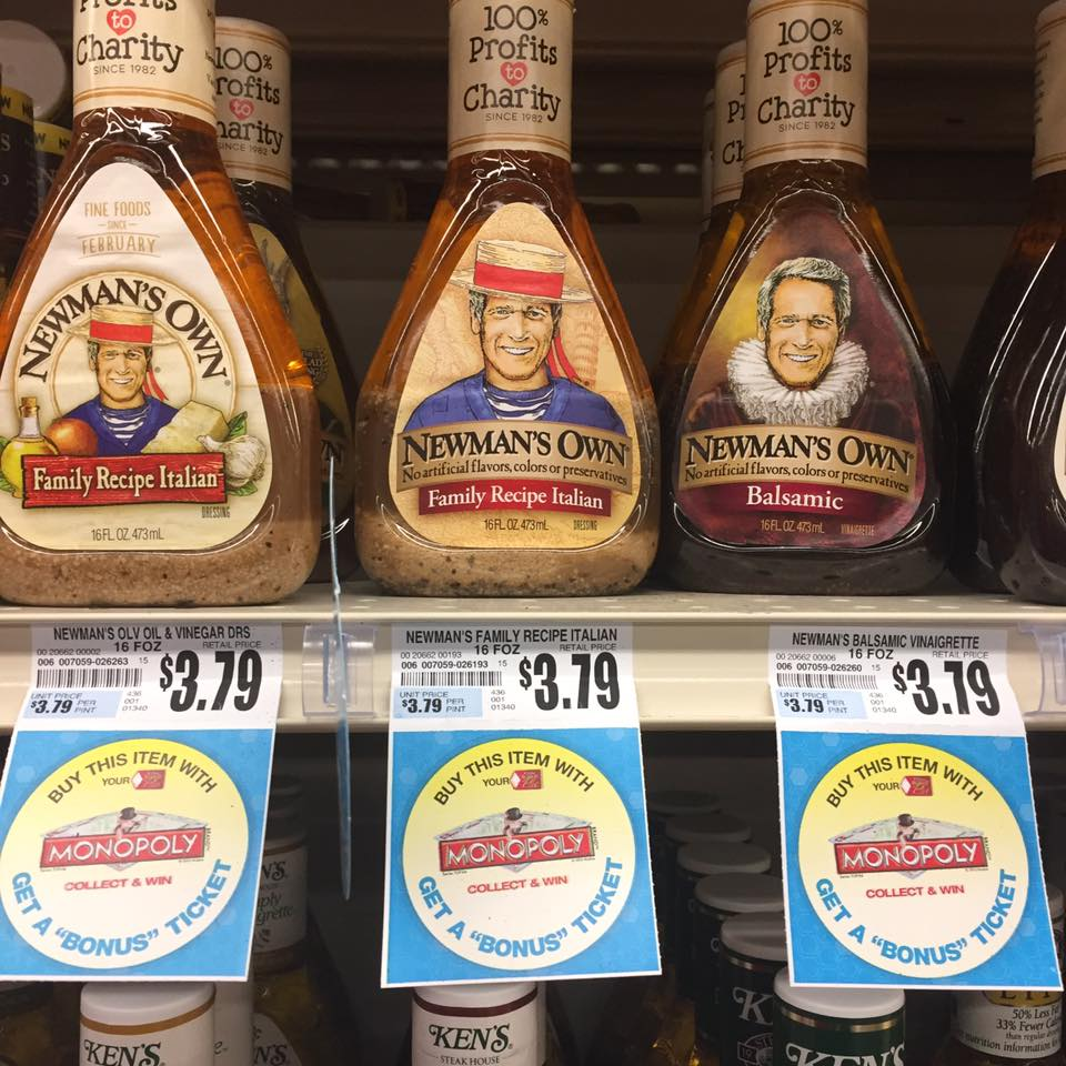 Newman's Own Dressing