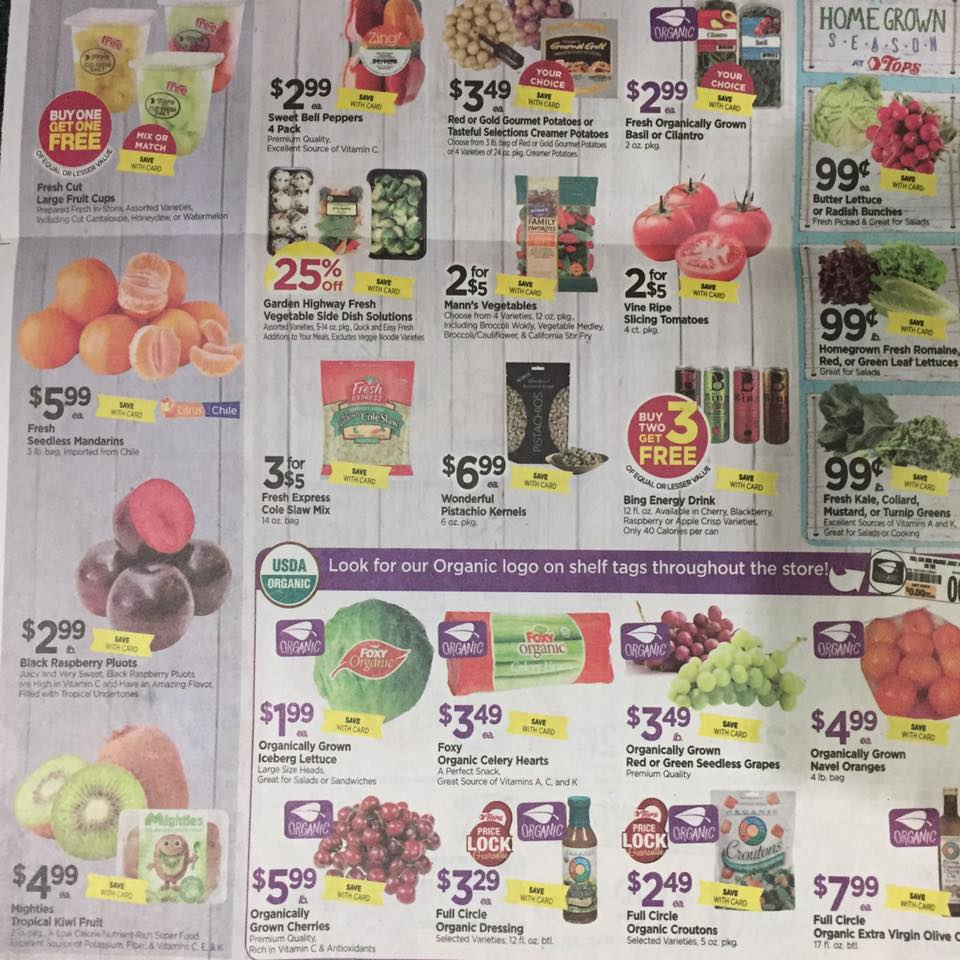 Tops Markets Ad Scan Week Of 7 2 Page 10b