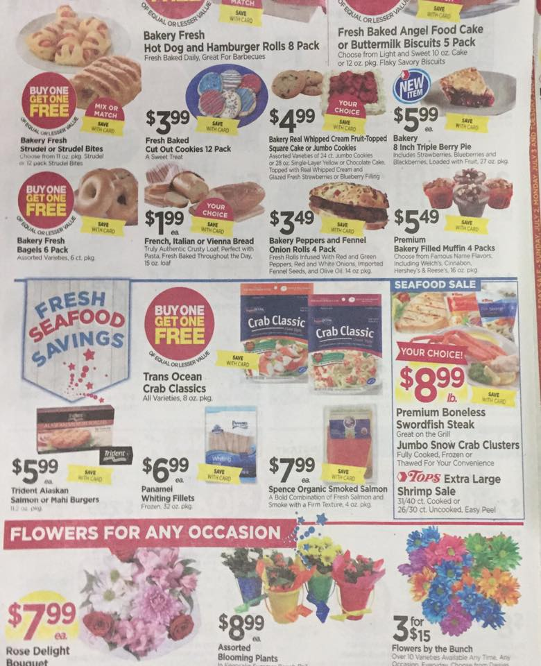 Tops Markets Ad Scan Week Of 7 2 Page 3b