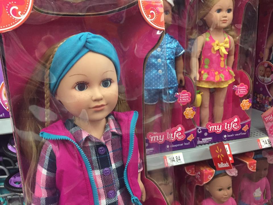 A Walmarts My Life Dolls 2 Clearanced