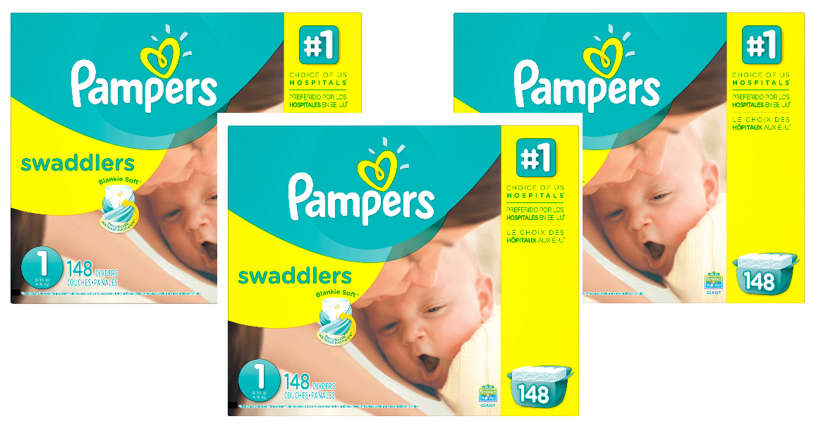 Pampers Diaper Deal At Walmart