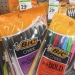 Bic Pens $) 29 At Walgreens