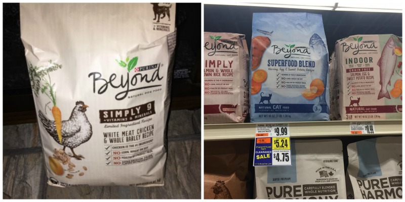Purina Beyond Clearance At Tops