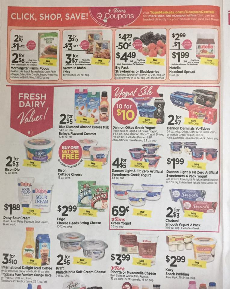 Tops Ad Scan Week Of 7 30 Page 4a