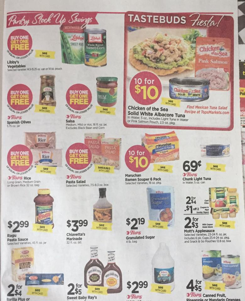 Tops Ad Scan Week Of 7 30 Page 5a
