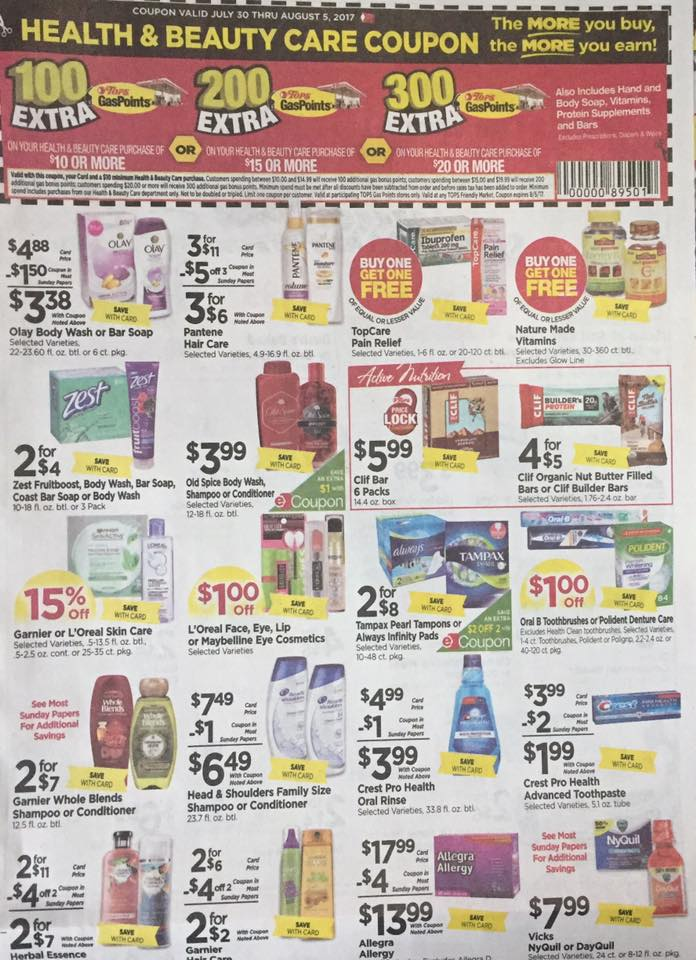 Tops Ad Scan Week Of 7 30 Page 7a