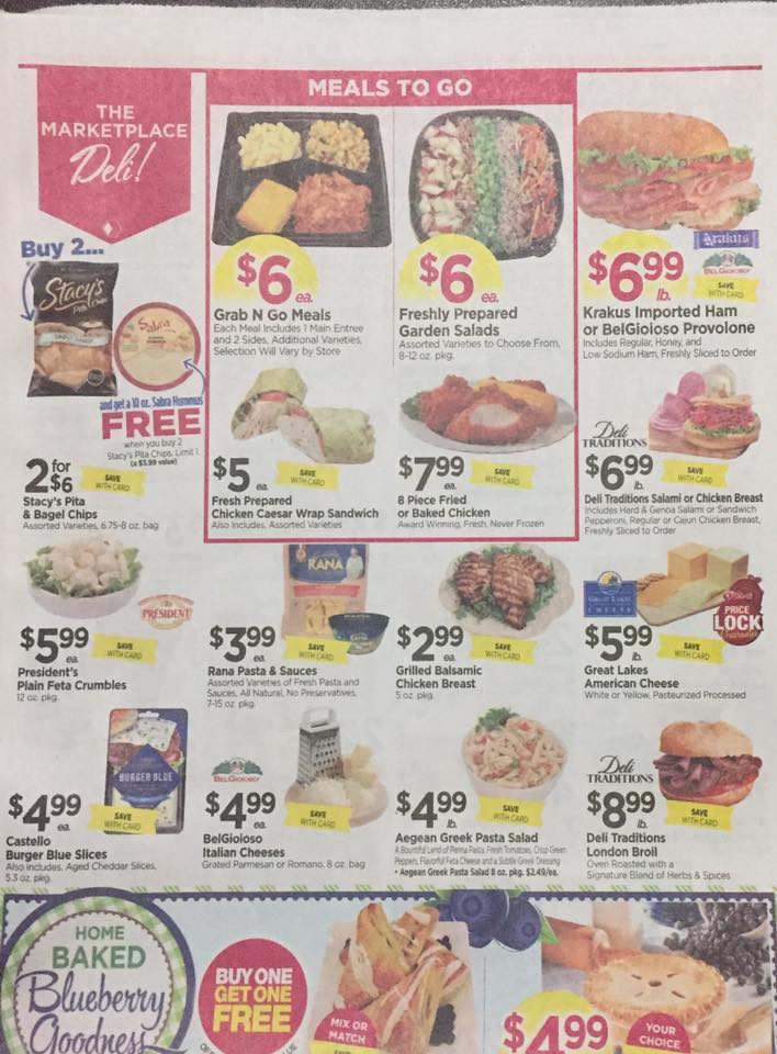 Tops Markets Ad Scan Week Of 7 23 Page 3a