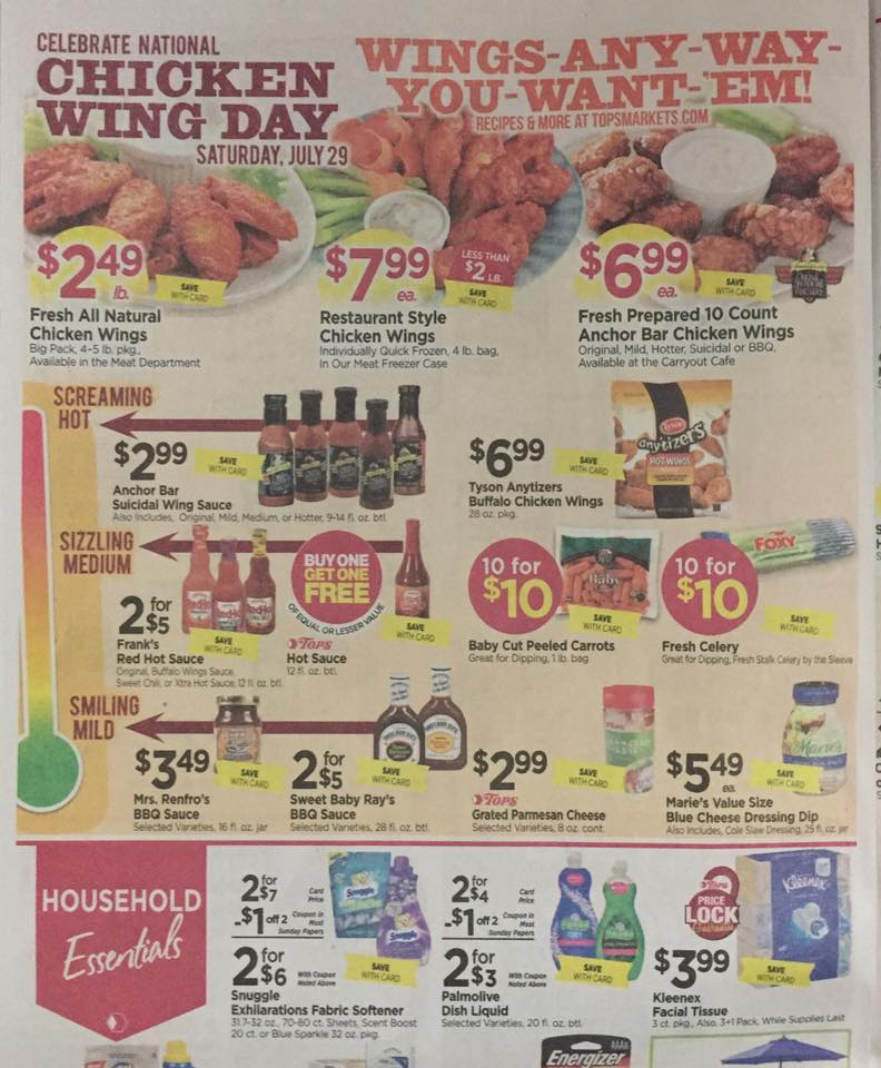 Tops Markets Ad Scan Week Of 7 23 Page 6a
