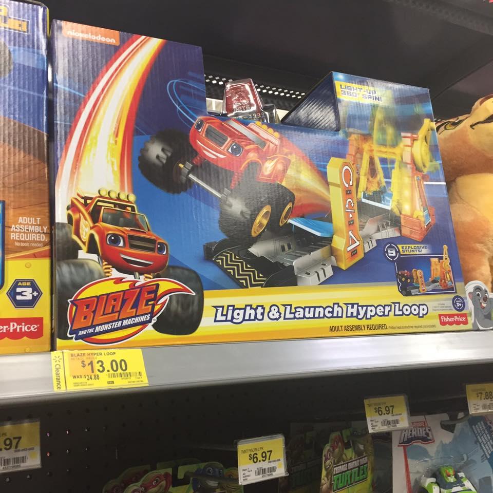 Blaze Walmart Toy Clearance