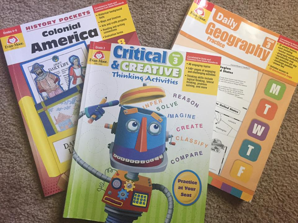 Evan Moore School Books Sale