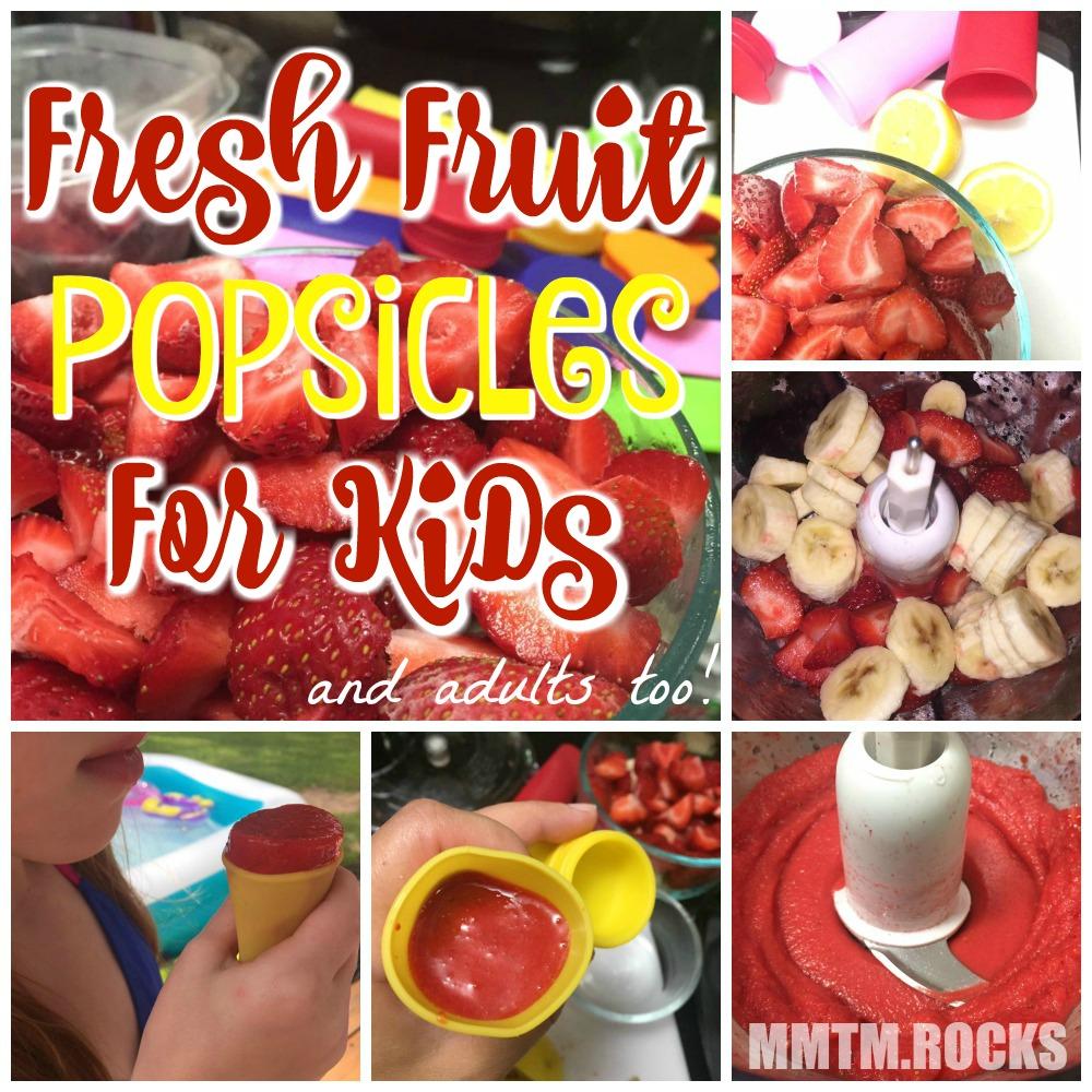 Fresh Fruit Pops For Kids 2
